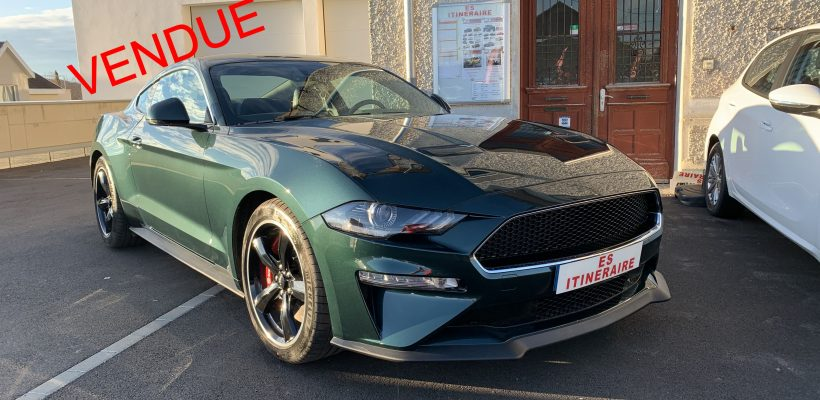FORD MUSTANG BULLIT ES ITINERAIRE VENDUE
