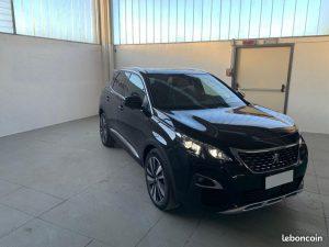 ES ITINERAIRE vous propose LE NOUVEAUX Peugeot 3008 BlueHDi 180ch S&S EAT8 GT Mise en circulation : 12/2019 Kilométrage : 10 Couleur : NOIR PERLA