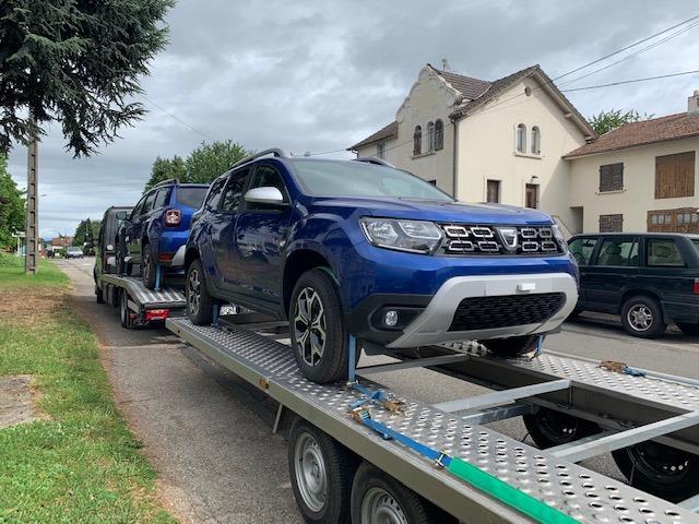 Arrivage Dacia chez ES Itineraire Waldighoffen