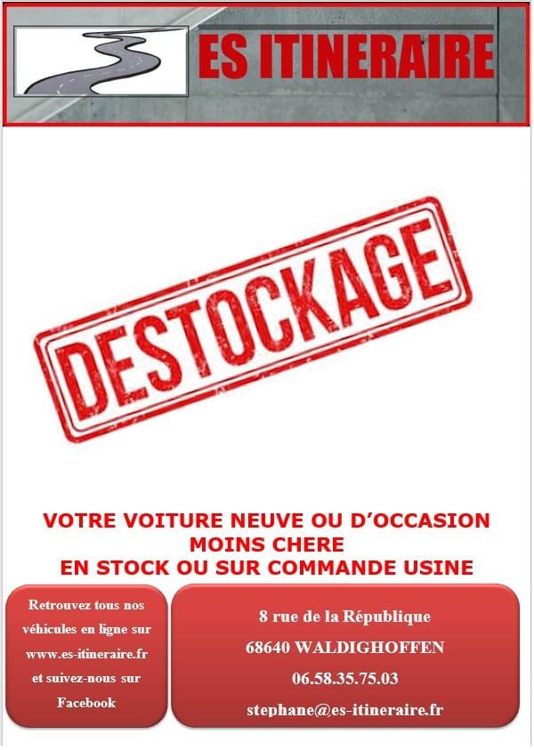 destockage ES ITINERAIRE waldighoffen 68580