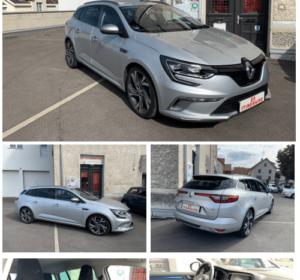 Renault Mégane Estate en GT diesel 165cv avec boite automatique Edc dispo chez Es itineraire