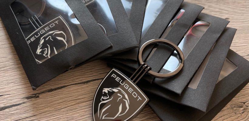 Porte-clés Peugeot