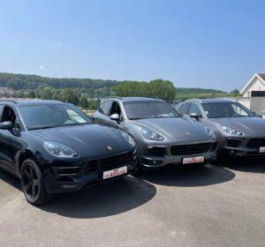 Arrivage Porsche chez ES itineraire !!
